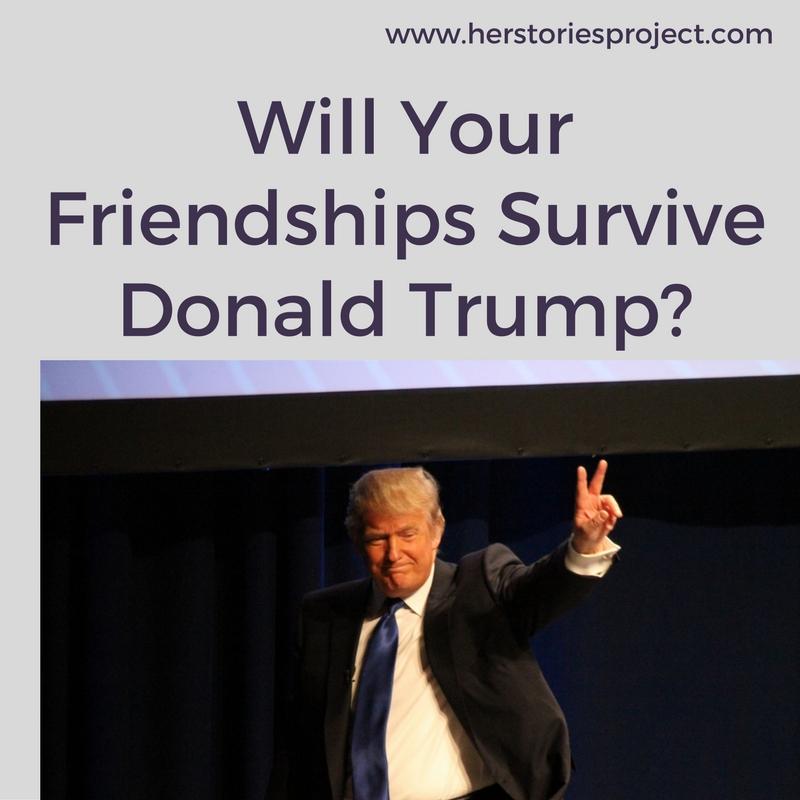 ending friendships over trump