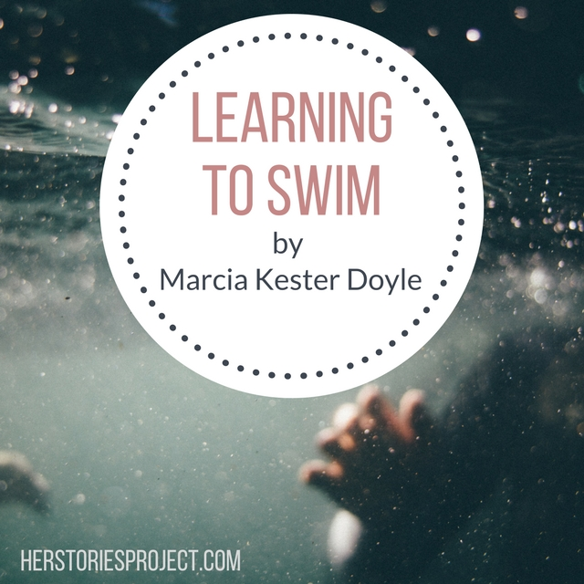 learning to swim