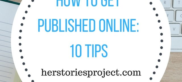 how to get published